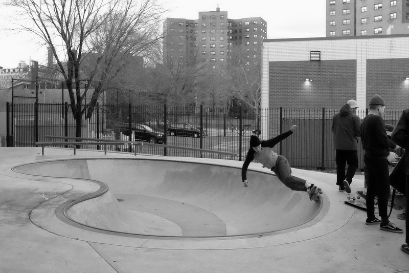 New York skateboarder